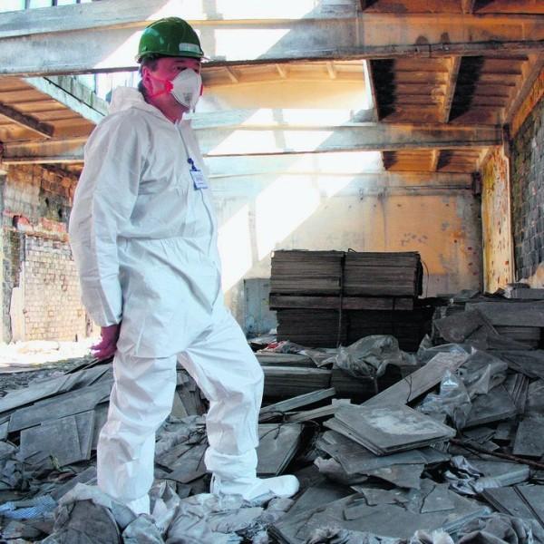 Szkolenie dla pracodawców przy usuwaniu azbestu